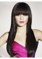 Extra Long Straight Capless Human Hair Wig