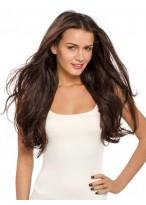 Seductive Long Wavy Human Hair Lace Front Wig