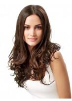 Natural Long Wavy Human Hair Lace Front Wig