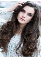 Most Popular Wavy Human Hair Lace Front Wig