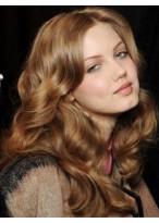 Beautiful Wavy Human Hair Lace Front Wig