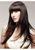 Amazing Long Straight Capless Human Hair Wig