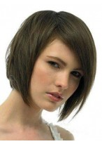 Shimmering Silky Straight Lace Front Remy Human Hair Wig
