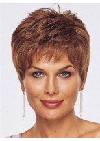 Hand Tied Lace Front With Mono Short Human Hair Wig
