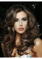 Natural Wavy Capless Human Hair Wig