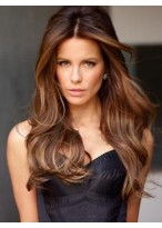Popular Wavy Remy Human Hair Lace Front Wig