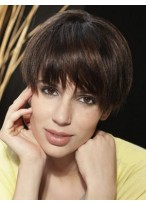 Elegant Straight Capless Remy Human Hair Wig
