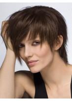Attractive Straight Capless Human Hair Wig
