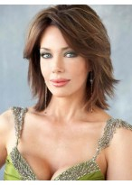 Charming Capless Straight Remy Human Hair Wig