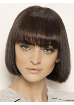 Miraculous Straight Remy Human Hair Capless Wig