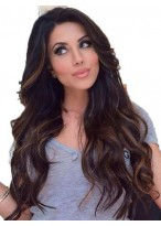 Elegant Wavy Lace Front Human Hair Wig