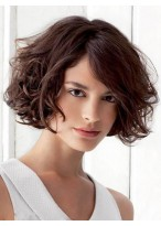 Comfortable Wavy Capless Remy Human Hair Wig