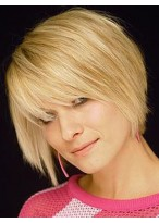 Gorgeous Capless Straight Remy Human Hair Wig