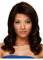 Lace Front Medium Wavy Remy Hair Wig