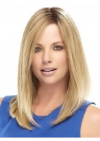 """16"""" Lace Front Straight Remy Human Hair Wig"""