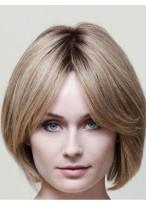 Flattering Human Hair Straight Capless Wig