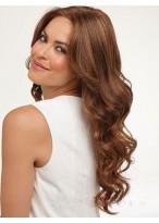 Glamorous Wavy Human Hair Lace Front Wig