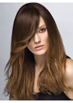 Popular Long Human Hair Capless Wig