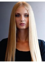Charming Straight Lace Front Remy Human Hair Wig