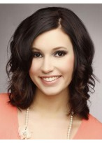 """14"""" Wavy Lace Front Human Hair Wig"""