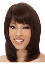Elaborately Straight Capless Human Hair Wig