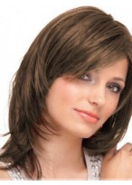 Seductive Human Hair Straight Capless Wig