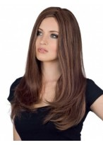 Elegant Straight Capless Remy Human Hair Wig