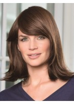 Affordable Human Hair Straight Capless Wig