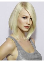 Attractive Straight Lace Front Brazilian Remy Hair Wig