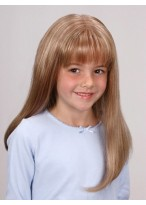 Lovely Long Straight Lace Front Girl's Wig
