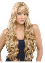 Full Lace Chic Water Wavy Remy Human Hair Wig