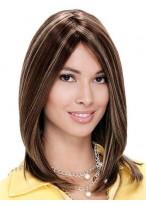Remy Human Hair Mono Straight Wig