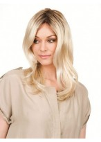 Hand-Tied Lace Front Wavy Wig