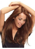 Attractive Long Straight Full Lace Wig