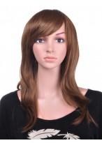 Straight Long Textured Human Hair Wig