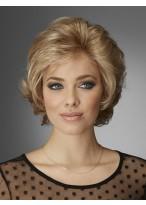 Wavy Short Fashionable Lace Front Human Hair Wig