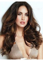 Stunning Long Lace Front Wavy Synthetic Wig