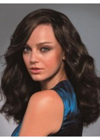 Durable Human Hair Wavy Lace Front Wig