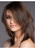 Affordable Straight Human Hair Lace Front Wig