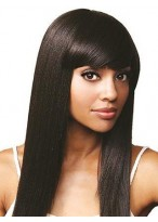 Remy Human Hair Silky Straight Full Lace Wig