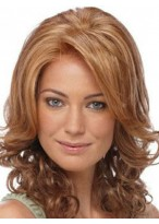 Dazzling Synthetic Wavy Lace Front Wig