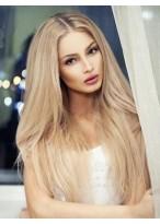 Natural Lace Front Human Hair Straight Wig