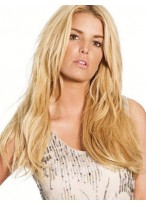 Striking Straight Human Hair Lace Front Wig