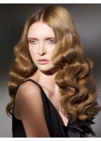 Marvelous Long Wavy Synthetic Lace Front Wig