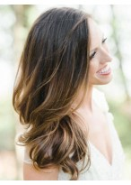 Nice Human Hair Wavy Lace Front Wig
