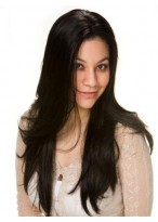 Remy Human Hair Straight Lace Front Wig