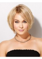 Flattering Straight Synthetic Lace Front Wig