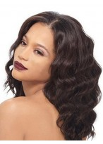 Elegance Deep Wavy Lace Front Wig