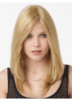 Light Blonde Remy Hair Lace Front Wig