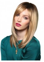 Sweet Straight Synthetic Lace Front Wig